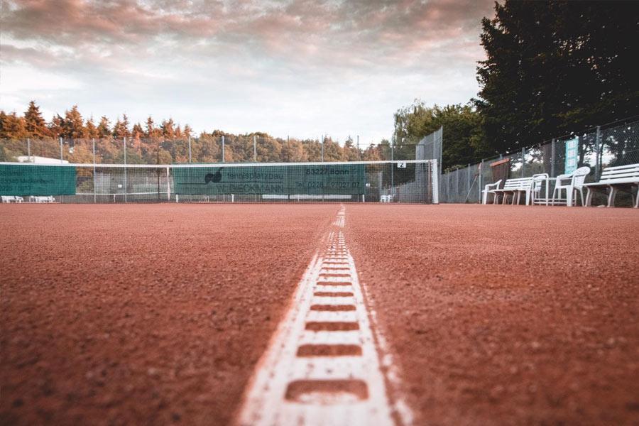 Tennisplatz Tennisclub Blau-Weiß Meckenheim